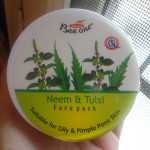 BEE-One neem and tulsi face pack review