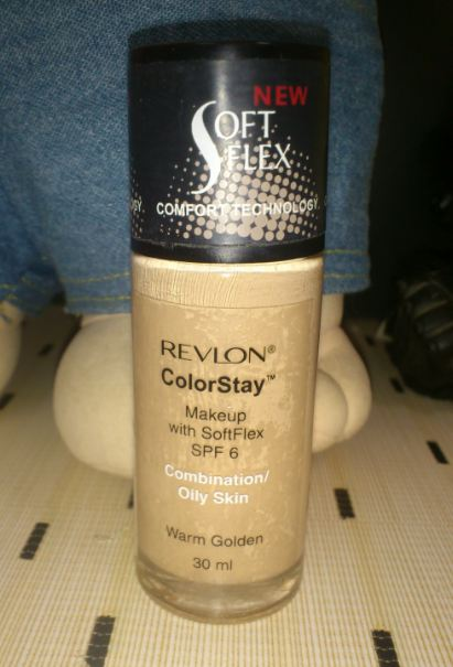 Revlon Colorstay foundation review- Warm Golden
