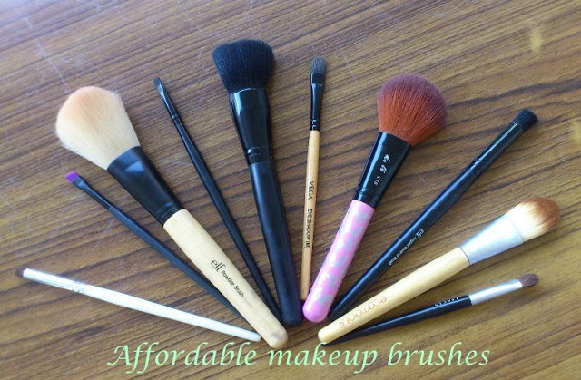 Affordable must have makeup brushes!