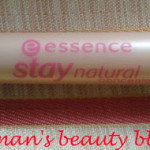 Essence Stay Natural concealer review- Soft honey