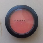 Mac blush review- Peaches