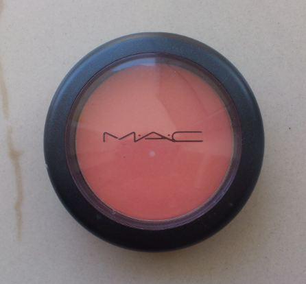 Mac blush review- Peaches