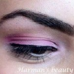 My makeup of the day: PINK!