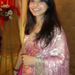 Pink saree outfit!
