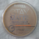 Rimmel Stay Matte pressed powder review!
