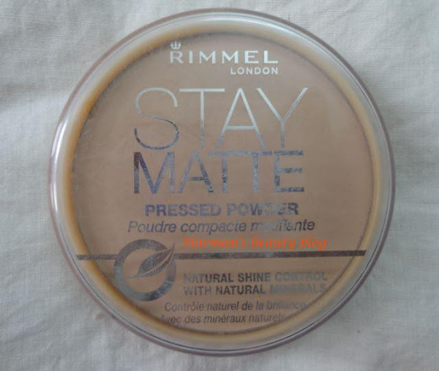 Rimmel Stay Matte pressed powder review!