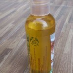 The Body Shop Rainforest shine hair oil review!