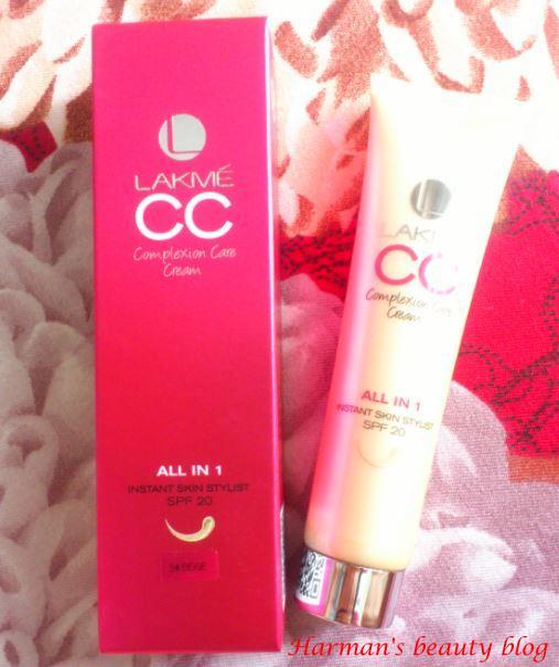 Lakme CC cream first impressions!