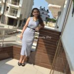 Outfit of the day – Casual grey maxi