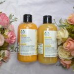 The Body Shop Banana Shampoo and Conditioner Review!