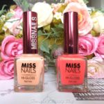 Miss Nails Hi-Gloss Nail Colour Review!