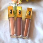 Gerard Cosmetics Lip Glosses – Nude, Plum Crazy and Cocoa Bean Review!
