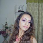 Purple Glam Makeup Look!