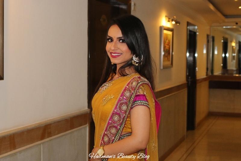 Yellow sari6