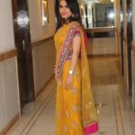 Outfit Of the Day : Yellow Saree!