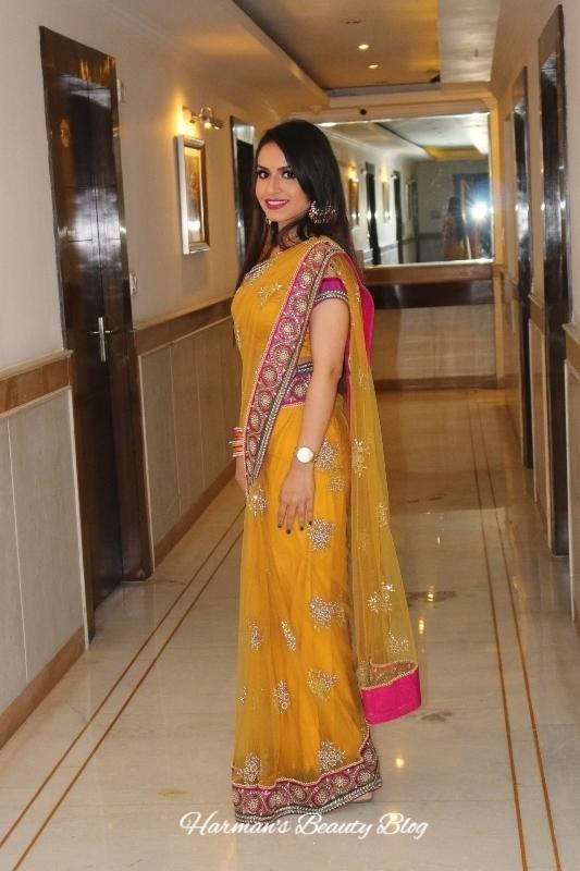 Yellow sari5