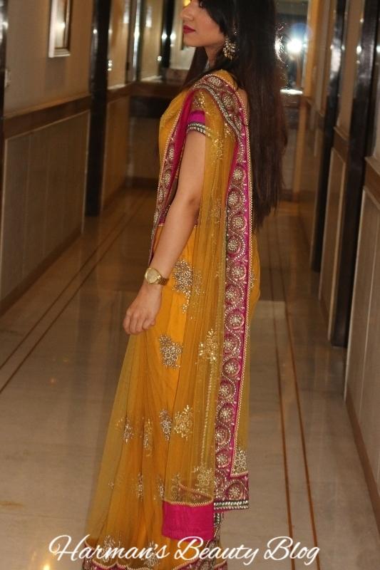 Yellow sari3